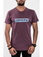 Mystic Brand Tee, Oxblood Red